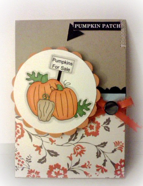 Pumpkin patch Jovita Torres - Welcome fall set