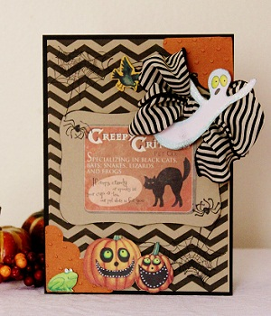 Creepy crawly  Penny Shurberg - Chevron fall backgrounds