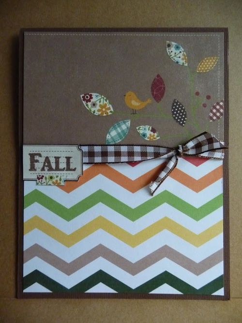 FALL  Jeri Thomas - chevron fall backgrounds