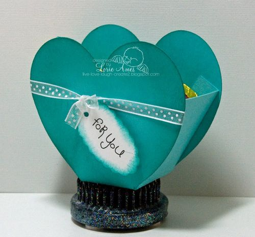 For you  Lori Ames - Heart treat box