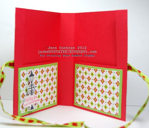 Seasons greetings  Jenn Cochran - Hot chocolate holder 1