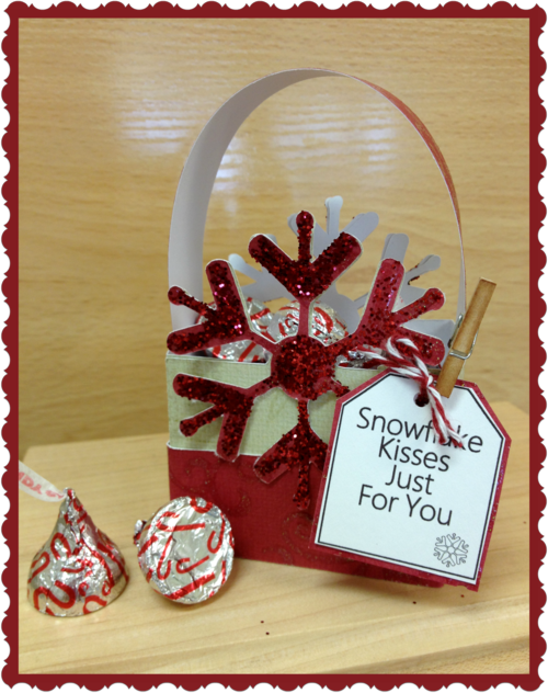 Snowflake Kisses just for you  Debbie Crowder - snowflake kisses treat box set