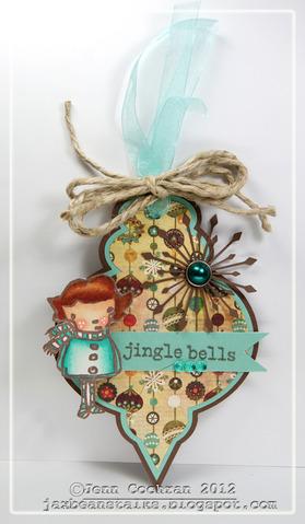 Jingle Bells Jenn Cochran - Christmas ornament fun