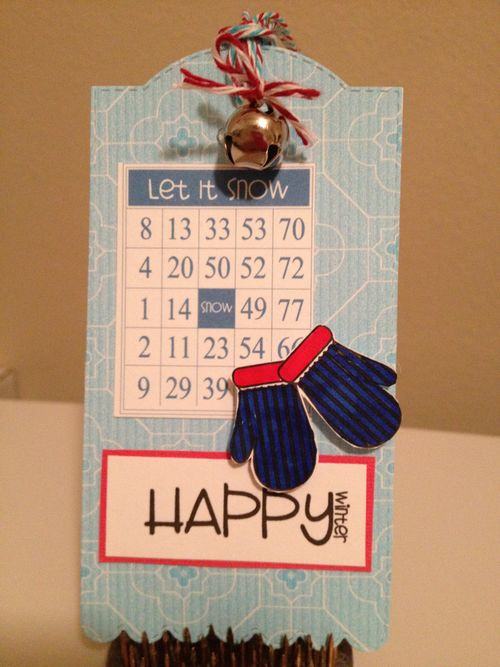 Happy Winter  Debbie Crowder - Winter bingo