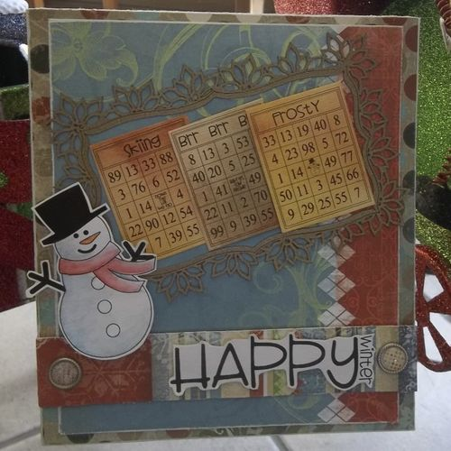 Happy Winter  Doris Molina - Winter bingo