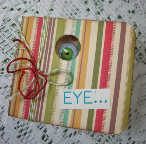 Eye card Lori Hairston - A bunch of monsters