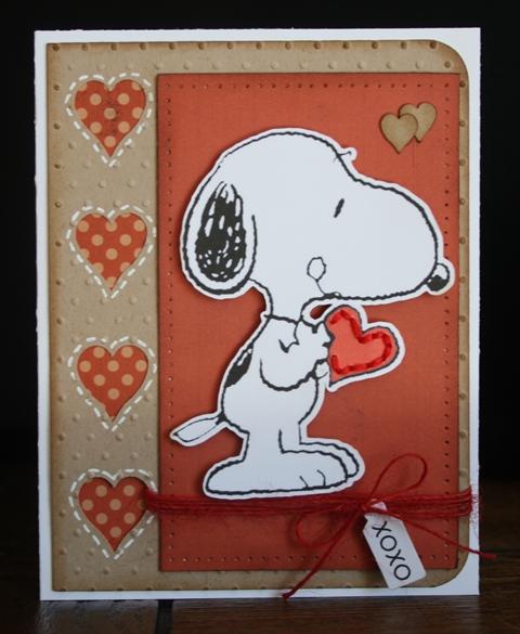 Xoxo Carolyn Wolff - Valentine window card tops