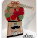 I Mustache you a question  Lisa Minckler - Gumball machine shaped card and Mustache shaped card set