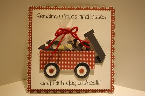 Hugs and kisses wagon Tanya Alley - Little red wagon set
