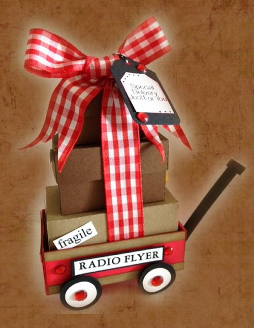 Radio Flyer - Misty Morgan - Little red wagon box set
