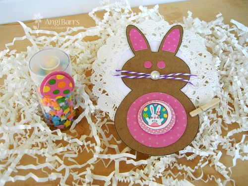 Easter Bunny - Angi Barrs - Bunny Treat box