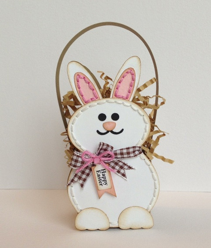 Happy Easter - Carolyn Wolff - Bunny treat box