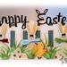 Happy Easter - Lisa Minckler - bunny trio shaped card