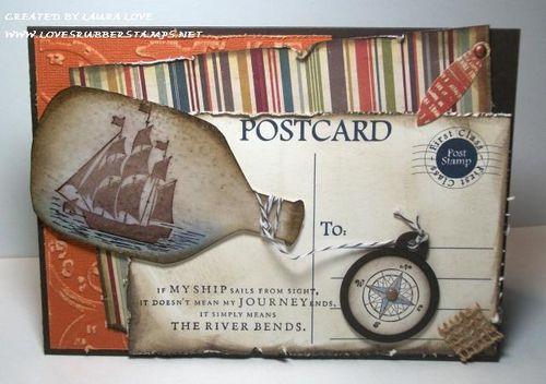 POSTCARD - Laura Love - Postcard printable set
