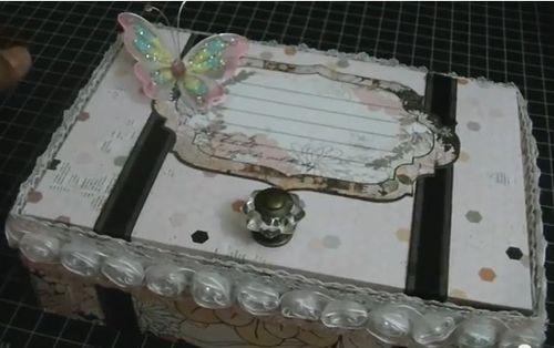 Suitcase - Sheryl Wilder - Suitcase box template