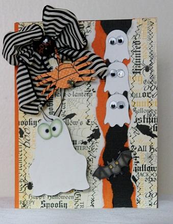 Ghost  Penny Shurberg - Halloween Trio