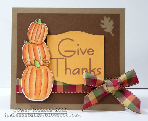 Give Thanks   Jenn Cochran - Autumn Days