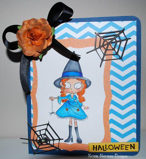 HALLOWEEN  Krista Norman - chevron fall backgrounds