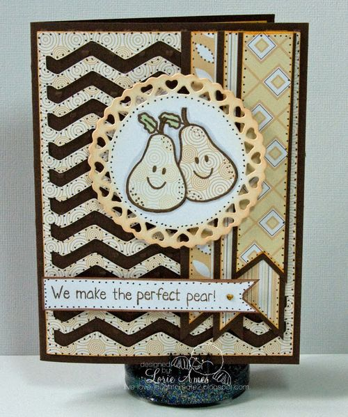 We make the perfect pear  Lorie Ames - Chevron cutting file