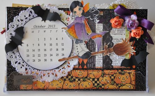 Calendar  Leslie Foley - 2013 calendar set
