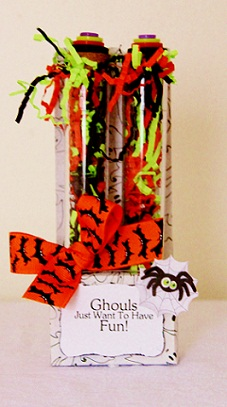 Ghouls just wanta have fun  Penny Shurberg - Test Tube - candy holder