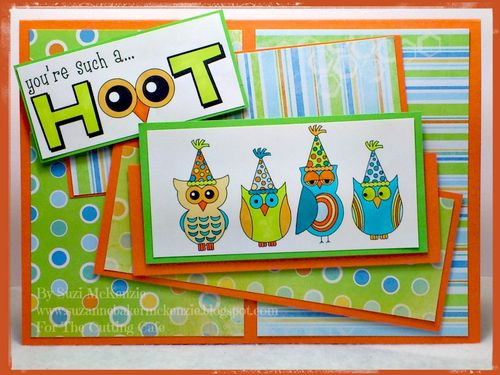 You're such a hoot  Suzie McKenzie - Fun with owls