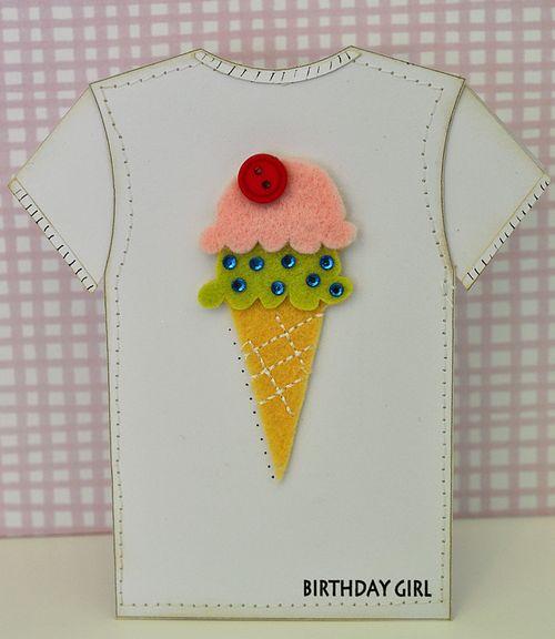 Tshirt icecreem