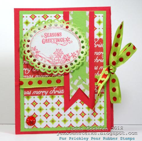 Seasons greetings  Jenn Cochran - Hot chocolate holder