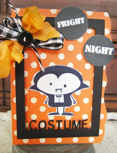 FRIGHT NIGHT  Lori Hairston - Halloween photo journal frames