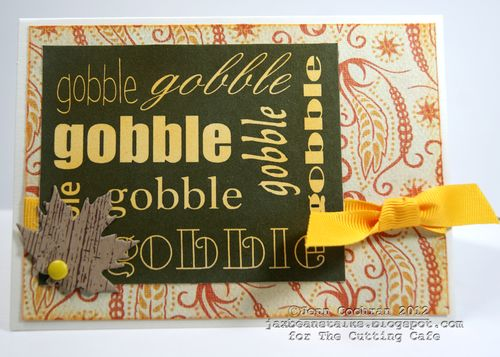 GOBBLE  Jenn Cochran - Thanksgiving day greetings