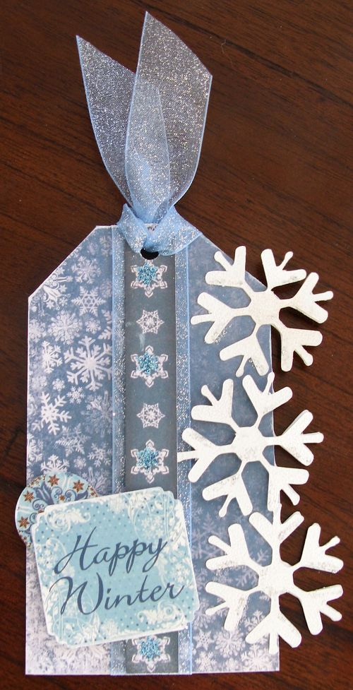Happy Winter  Kerys Sharrock - Fun with snowflakes