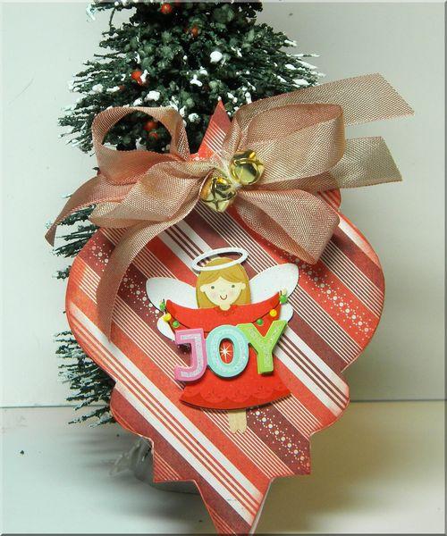 Joy  Kimberley Morrow - Christmas onament fun