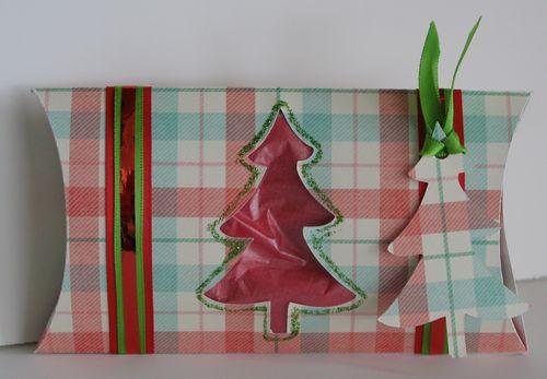 Tree pillow box Keys Sharrock - Christmas pillow box set