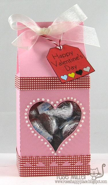 Happy Valentines day  Rose Miller - Assorted milk cartons and feb 14 set