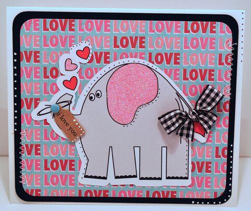 ELEPHANT I LOVE YOIU