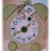 So Lucky  Lisa Minckler - Alarm clock shaped card and St. Patricks day hershey kiss bottoms