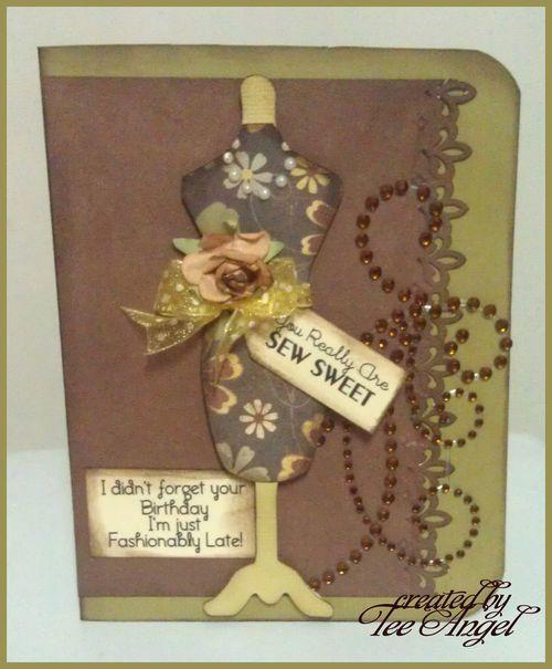 Sew sweet - Tee Angel - Fun with dress forms