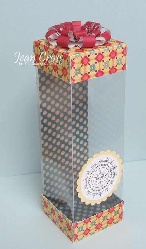 Birthday - Jean Cross - Tall box
