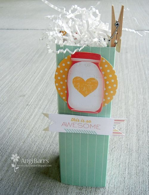This is so awesome - Angi Barrs - tall box template