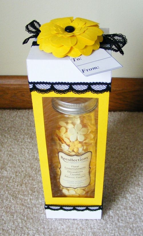 TO - Deloris Thiede - Tall box and Heart flower set