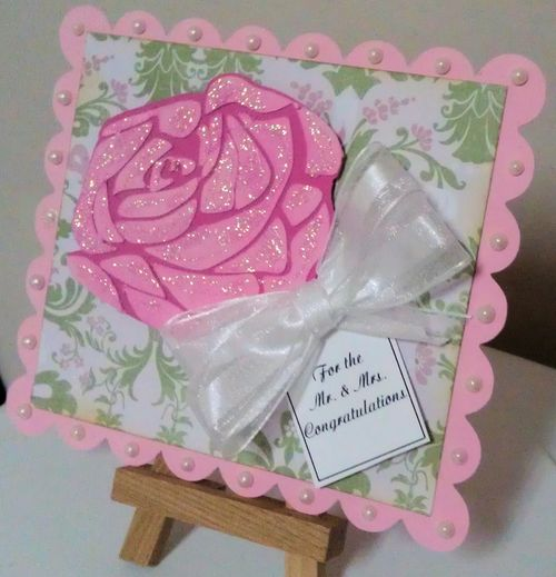 For the Mr. & Mrs. - Tee Angel - Beautiful Rose set