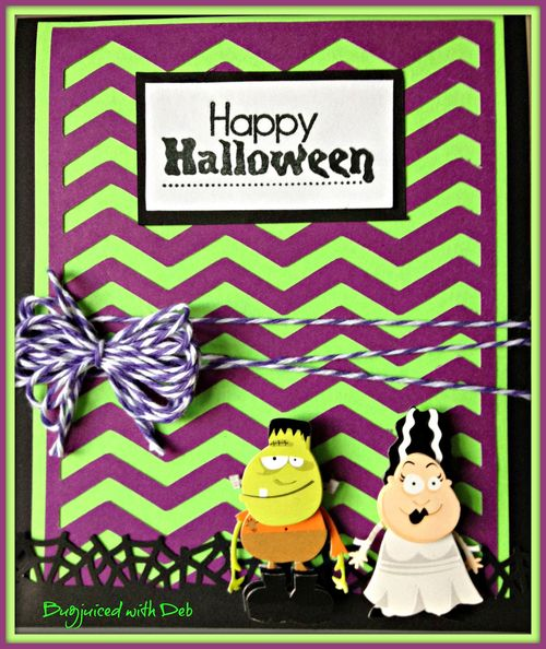 Happy Halloween  Debbie Crowder - chevron cutting file
