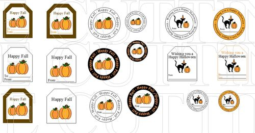 HALLOWEEN AND FALL TAGS
