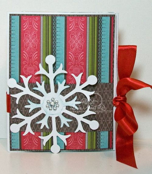 Snowflake  Lorie Ames - Hot chocolate holder