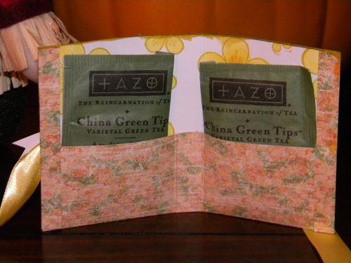 Tea for Two  Kimberly Morrow - Tea bag holder 1