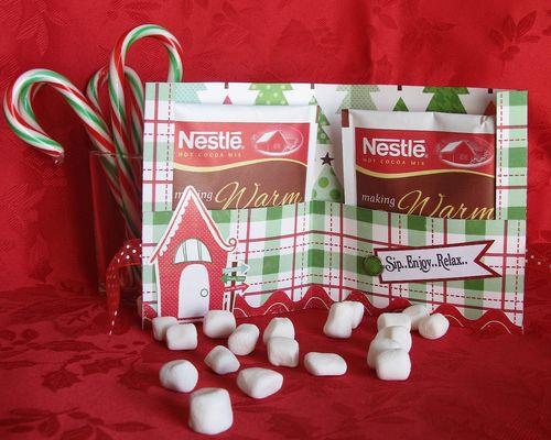 The Love of Chocolate  Kerys Sharrock - Hot Chocolate holder 1