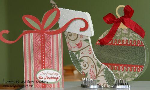 Christmas Card set  Lezlye Lauterbauch - Chrsitmas card set