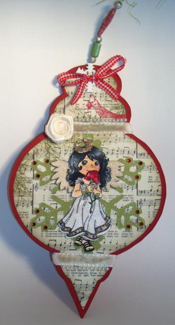 ORNAMENT Laura Love - Christmas ornament fun