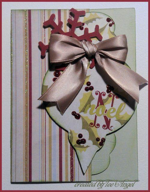 Noel  Tee Angel - Christmas ornament fun
