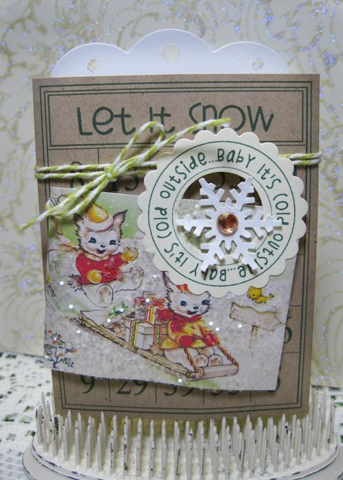 Let it snow  Lori Hairston - Winter bingo